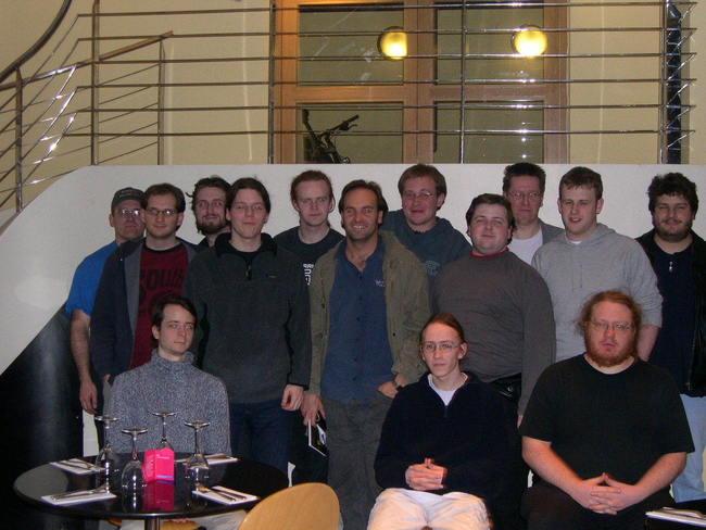 ubuntu 4.10 warty warthog team