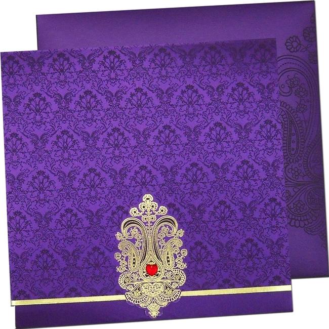 Stylish Indian Wedding Cards Hindu Indian Wedding Card