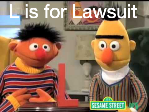 Sesame Street - L is for Lawsuit